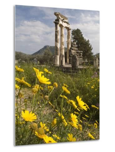 The Tholos Temple in the Sanctuary of Athena Pronaia And-Richard Nowitz-Metal Print