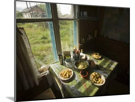 A House in the Kronotsky Nature Reserve-Michael Melford-Mounted Photographic Print