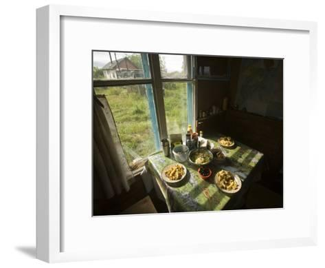 A House in the Kronotsky Nature Reserve-Michael Melford-Framed Art Print