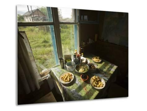 A House in the Kronotsky Nature Reserve-Michael Melford-Metal Print