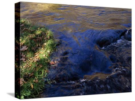 Water Pouring over Hidden Stones in the Nantahala River Gorge-Raymond Gehman-Stretched Canvas Print