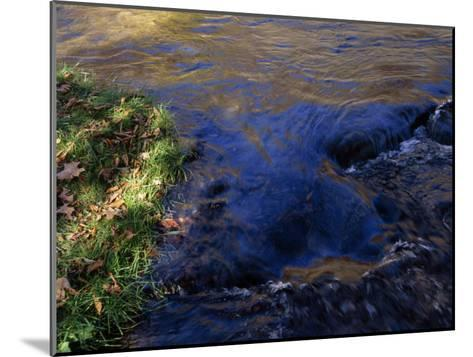 Water Pouring over Hidden Stones in the Nantahala River Gorge-Raymond Gehman-Mounted Photographic Print