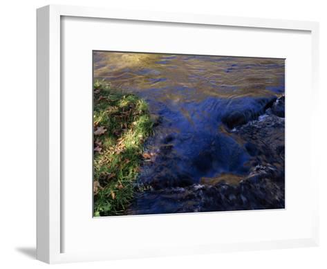 Water Pouring over Hidden Stones in the Nantahala River Gorge-Raymond Gehman-Framed Art Print