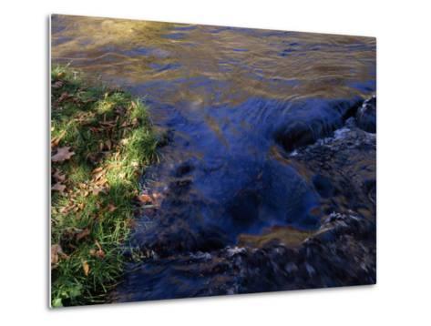 Water Pouring over Hidden Stones in the Nantahala River Gorge-Raymond Gehman-Metal Print