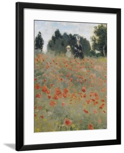 Wild Poppies-Claude Monet-Framed Art Print