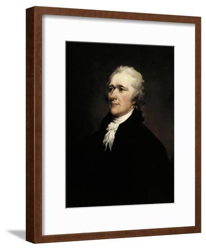 Alexander Hamilton-John Trumbull-Framed Art Print