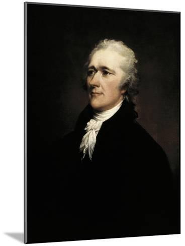 Alexander Hamilton-John Trumbull-Mounted Art Print