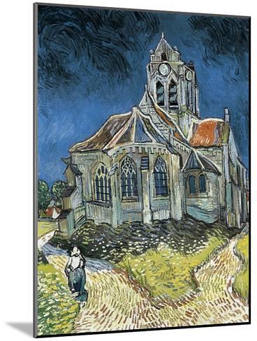 The Church at Auvers-Sur-Oise (L'Église D'Auvers-Sur-Oise, Vue Du Chevet)-Vincent van Gogh-Mounted Art Print
