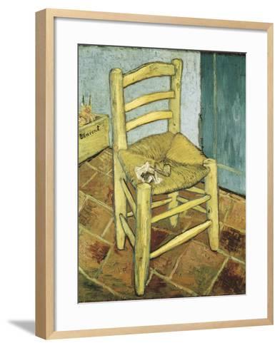 Van Gogh's Chair-Vincent van Gogh-Framed Art Print