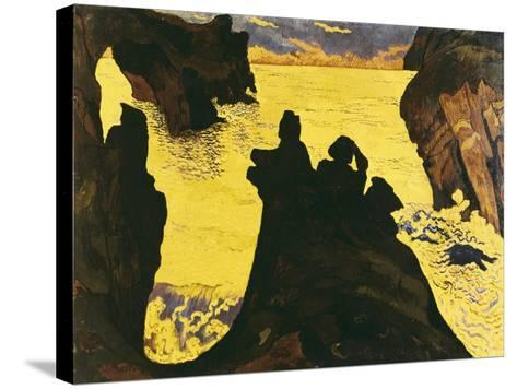 The Yellow Sea-Georges Lacombe-Stretched Canvas Print