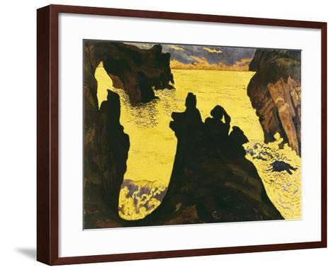 The Yellow Sea-Georges Lacombe-Framed Art Print