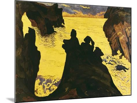 The Yellow Sea-Georges Lacombe-Mounted Art Print