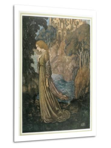 The Bell and Other Poems-Edmund Dulac-Metal Print