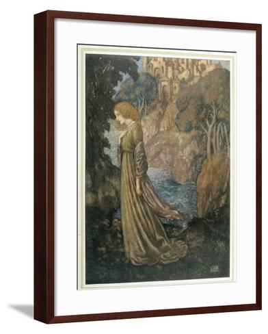 The Bell and Other Poems-Edmund Dulac-Framed Art Print