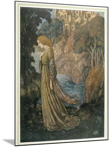 The Bell and Other Poems-Edmund Dulac-Mounted Art Print