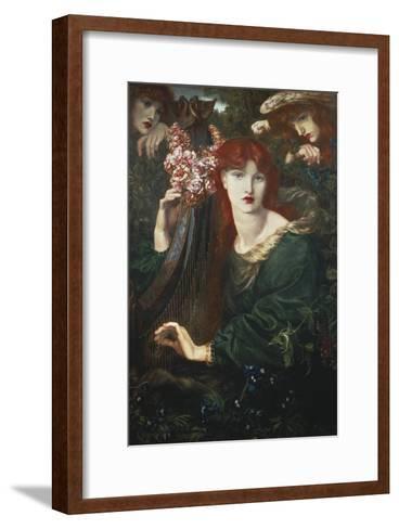 La Ghirlandata-Dante Gabriel Rossetti-Framed Art Print