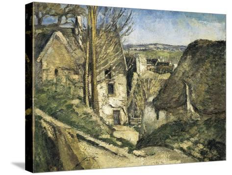 The House of the Hanged Man, Auvers-Sur-Oise-Paul C?zanne-Stretched Canvas Print
