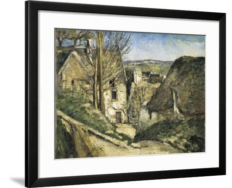 The House of the Hanged Man, Auvers-Sur-Oise-Paul C?zanne-Framed Art Print