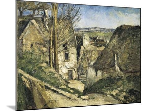 The House of the Hanged Man, Auvers-Sur-Oise-Paul C?zanne-Mounted Art Print