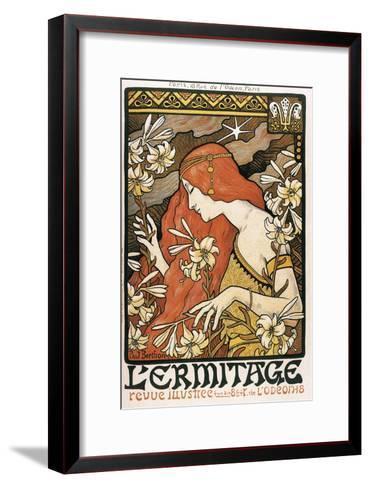 L'Ermitage-Paul Berthon-Framed Art Print