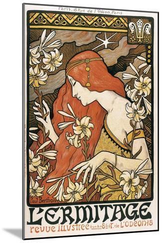 L'Ermitage-Paul Berthon-Mounted Art Print