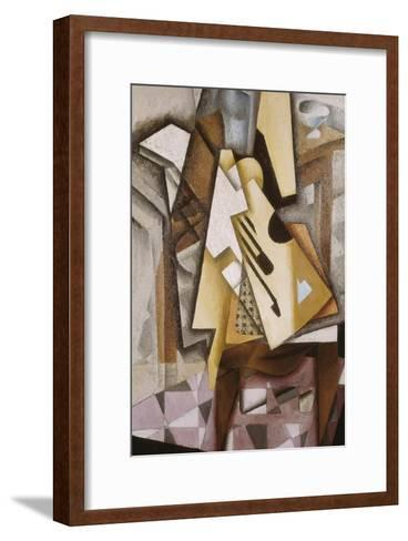 Guitar on a Chair-Juan Gris-Framed Art Print