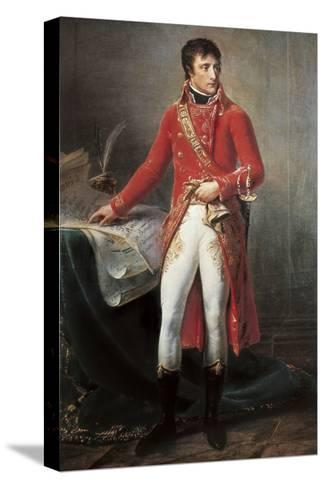 Bonaparte, First Consul-Antoine-Jean Gros-Stretched Canvas Print