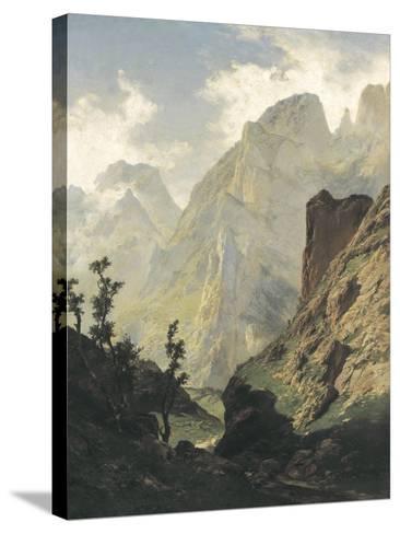 Picos De Europa-Carlos de Haes-Stretched Canvas Print
