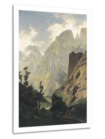 Picos De Europa-Carlos de Haes-Metal Print