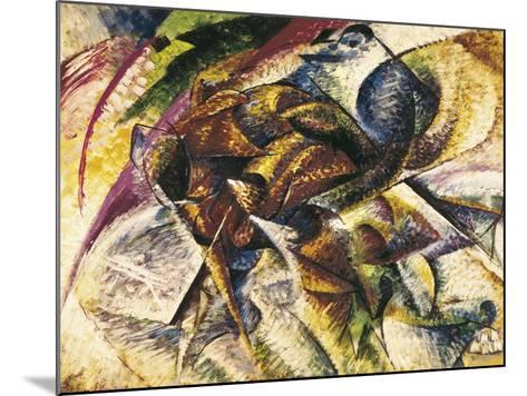 Dynamism of a Cyclist-Umberto Boccioni-Mounted Art Print