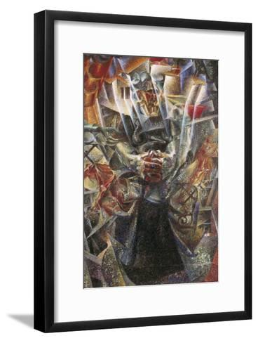 Materia-Umberto Boccioni-Framed Art Print