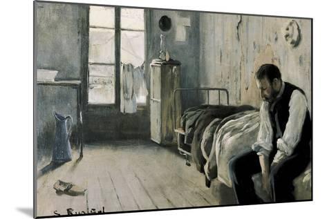 My Room in Paris-Santiago Rusinol-Mounted Art Print
