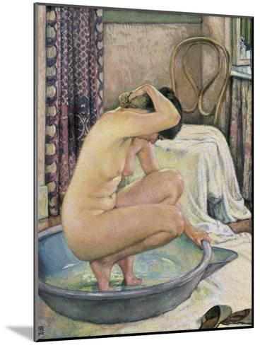 Nude in the Bath-Th?o van Rysselberghe-Mounted Art Print
