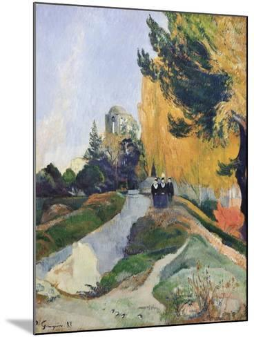 The Alyscamps, Arles-Paul Gauguin-Mounted Art Print