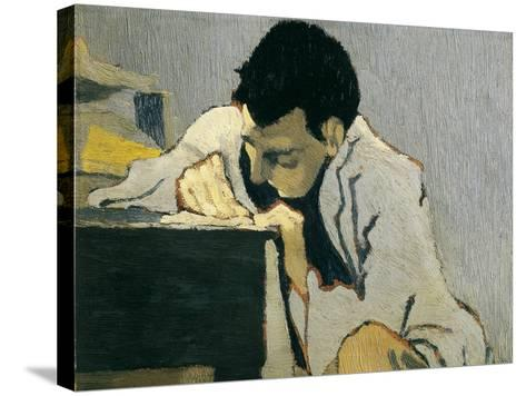Portrait of Lugn?-Po?-Edouard Vuillard-Stretched Canvas Print