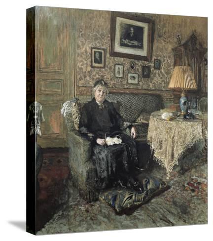 Madame Adrien Bénard-Edouard Vuillard-Stretched Canvas Print