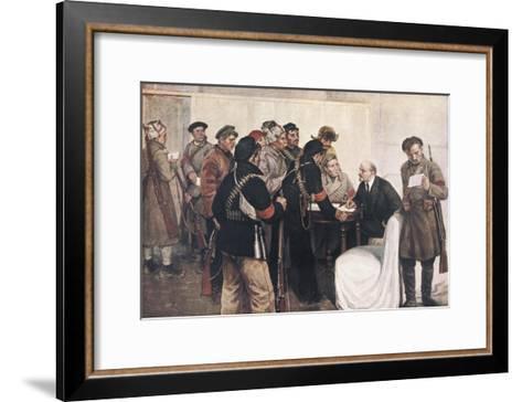 Lenin, Vladimir Ilich Ulyanov (1870-1924)--Framed Art Print