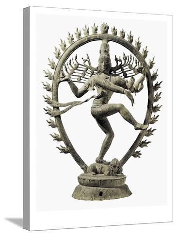 Shiva Nataraja, King of Dance--Stretched Canvas Print