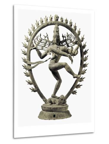Shiva Nataraja, King of Dance--Metal Print