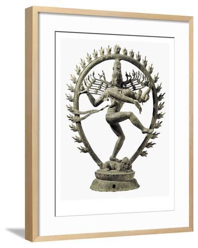 Shiva Nataraja, King of Dance--Framed Art Print