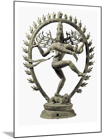 Shiva Nataraja, King of Dance--Mounted Art Print