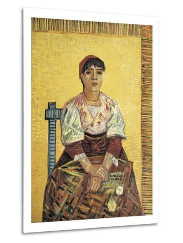 The Italian Woman-Vincent van Gogh-Metal Print