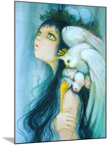 Royal Egg Watcher-Camilla D'Errico-Mounted Art Print