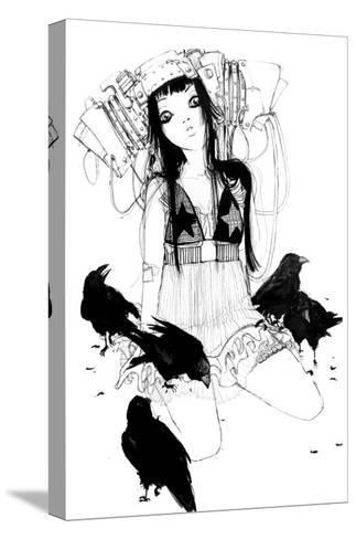 Stars-Camilla D'Errico-Stretched Canvas Print