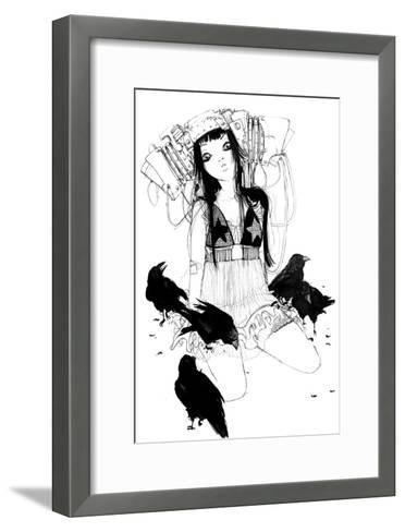 Stars-Camilla D'Errico-Framed Art Print