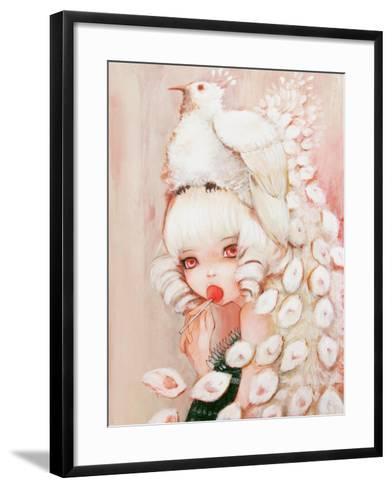 Sweet Peacock-Camilla D'Errico-Framed Art Print