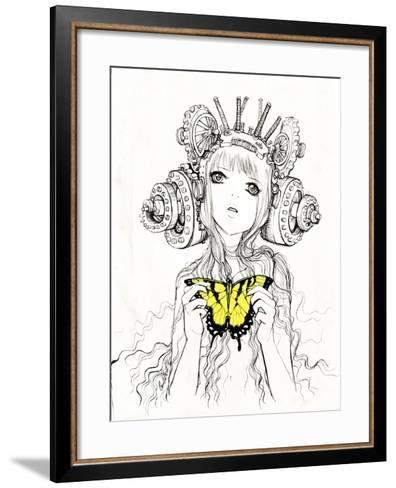 The Heart-Camilla D'Errico-Framed Art Print