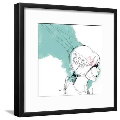 Ghosts-Manuel Rebollo-Framed Art Print