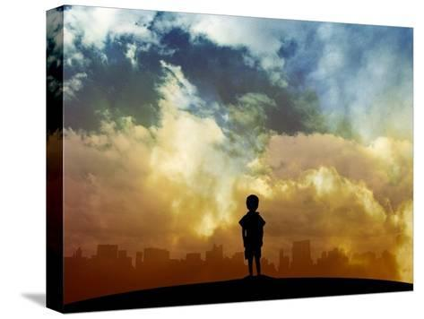 Open your eyes-Alex Cherry-Stretched Canvas Print