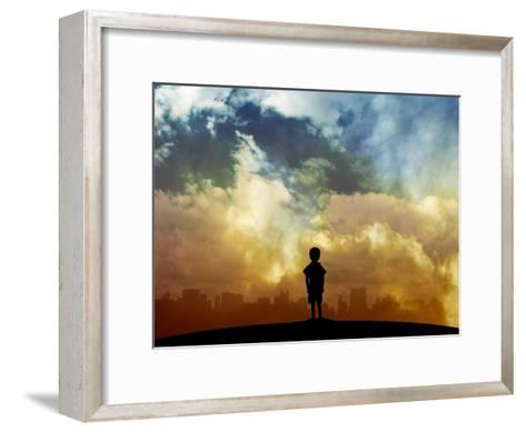 Open your eyes-Alex Cherry-Framed Art Print